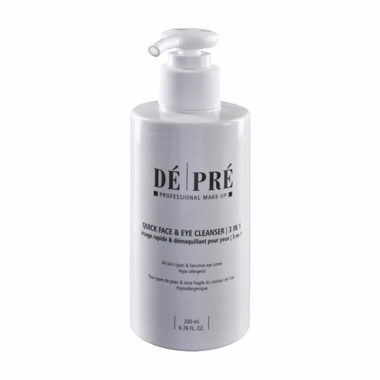 De & Pre Quick Face & Eye Cleanser (3 in 1)