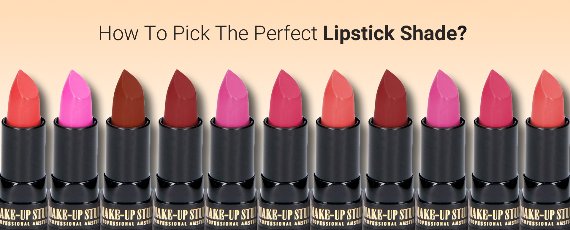 How to pick the Perfect Lipstick Shade?