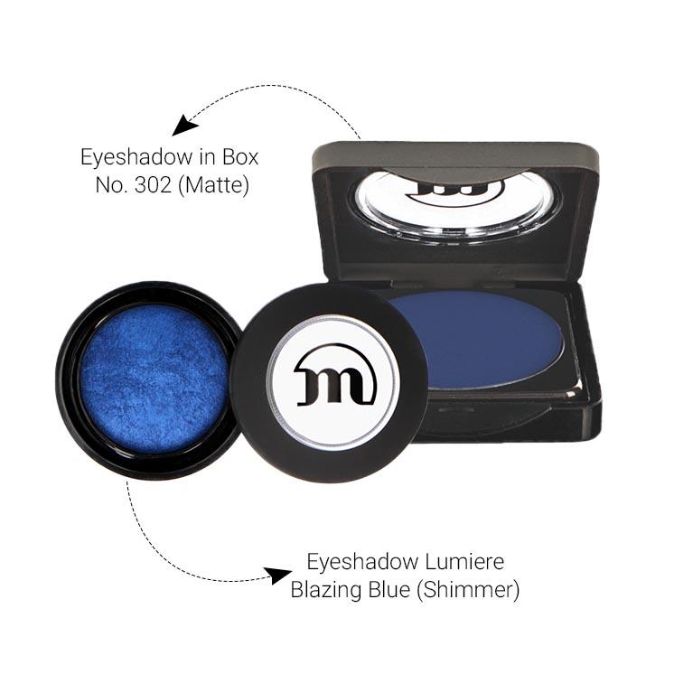 Blue Bizarre Eye Set